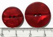 Knopf, rot 15 mm